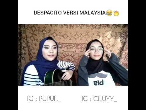 cover by ciluyy & pupuii ' despacito versi malaysia '