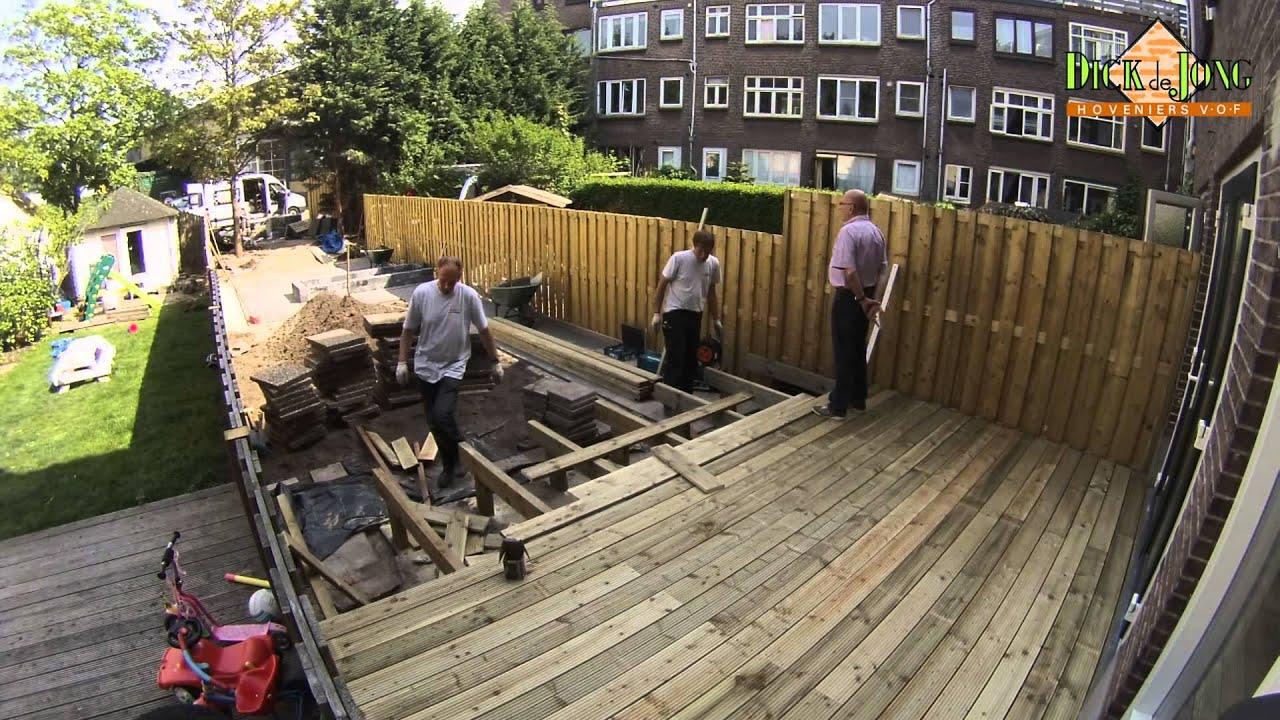Aanleg van een tuin youtube for Aanleg kleine tuin