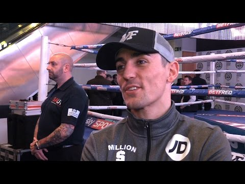Anthony Crolla Interview & Public Workout Ahead Of Jorge Linares Rematch