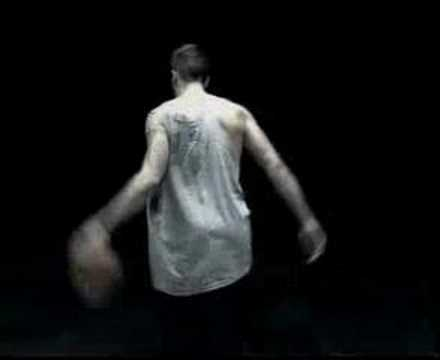 "jason williams in the NIKE advertisement ""free style"""