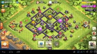 Clash Of Clans-Getting To Town Hall 8 Tips/Guide