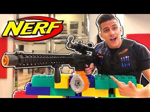 NERF WAR - NERF SNIPER GUN GAME BATTLE! *BEST NERF SNIPER*
