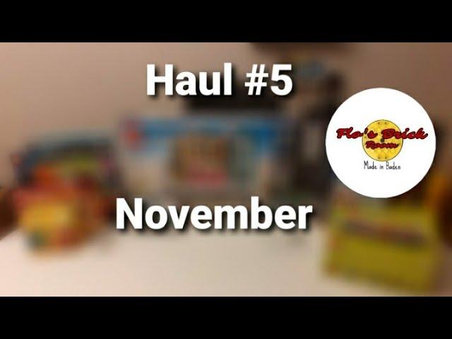 Haul #5 November