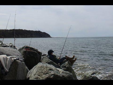 Halibut Fishing From Shore (Alaska)