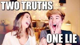 TWO TRUTHS, ONE LIE w/ ZOE! || MARK FERRIS