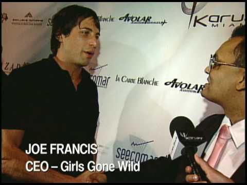 Kavita Channe interviews Kendra Wilkinson in Miami...