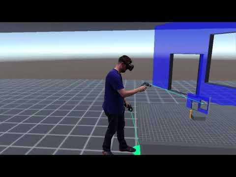 Hochschule Osnabrück: Virtual Reality Grundrissplanung