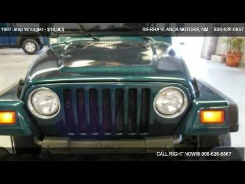 1997 Jeep Wrangler Sport For Sale In Ruidoso Nm 88355
