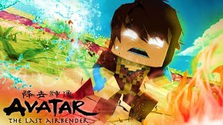 Minecraft - AVATAR - TREVIN O AVATAR DE OUTRA TERRA !