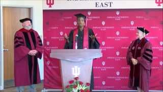 Highlights of the Venus Williams Diploma Ceremony at IU East, August 2015