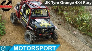 JK Tyre Orange 4X4 Fury | Motorsport | AutoToday