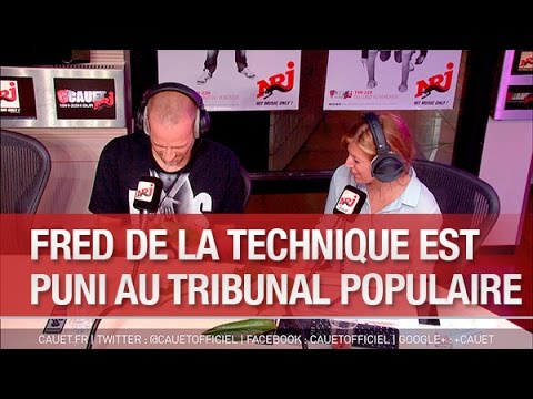 Fred de la technique est puni au Tribunal Populaire - C'Cauet sur NRJ