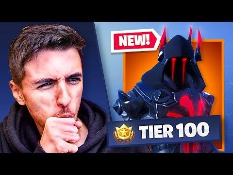 NEW Season 7 TIER 100 Skin (100% UNLOCKED) - FORTNITE BATTLE ROYALE