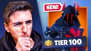 NEW Season 7 TIER 100 Skin (100% UNLOCKED) - FORTNITE BATTLE ROYALE
