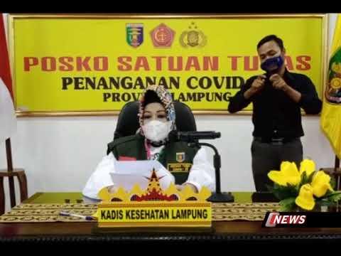 Laporan Perkembangan Penangan Covid 19 Provinsi Lampung, Rabu 4 November 2020