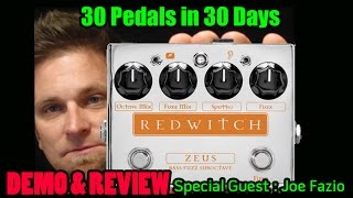 REDWITCH ZEUS Bass Fuzz - Demo & Review - 30 Pedals in 30 Days 2015