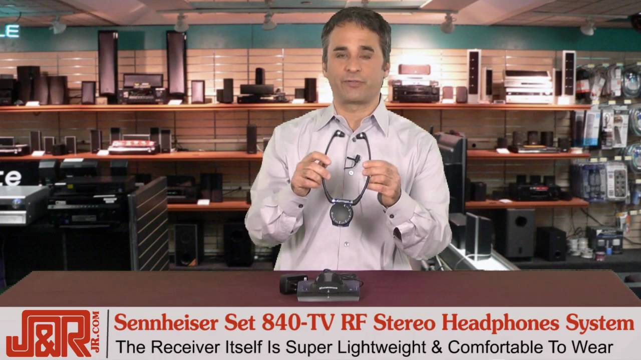 Sennheiser Set 840 Tv Rf Stereo Tv Listening Headphones