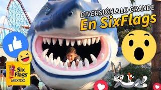 Patita de perro en Six Flags México! Me divertí mucho en todos los juegos. thumbnail