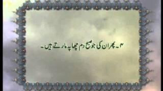 Surah Al-'Adiyat (Chapter 100) with Urdu translation, Tilawat Holy Quran, Islam Ahmadiyya