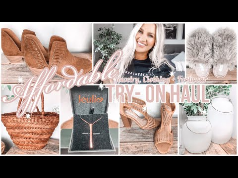 JEULIA JEWELRY UNBOXING + HUGE CLOTHING & FOOTWEAR TRY ON HAUL    TARGET, COTTON ON + MORE!! from YouTube · Duration:  20 minutes 54 seconds