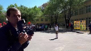 Ах эти тучи в голубом. Наташа Попова. 9 мая. 68 гимназия.
