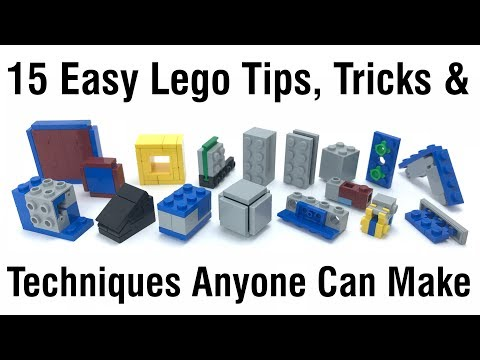 Top 15 Easy Lego Building Tips, Tricks & Techniques Anyone Can Make
