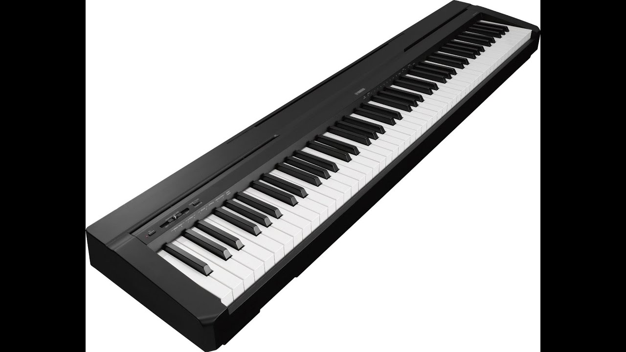 yamaha p35b 88 key digital piano review p series youtube