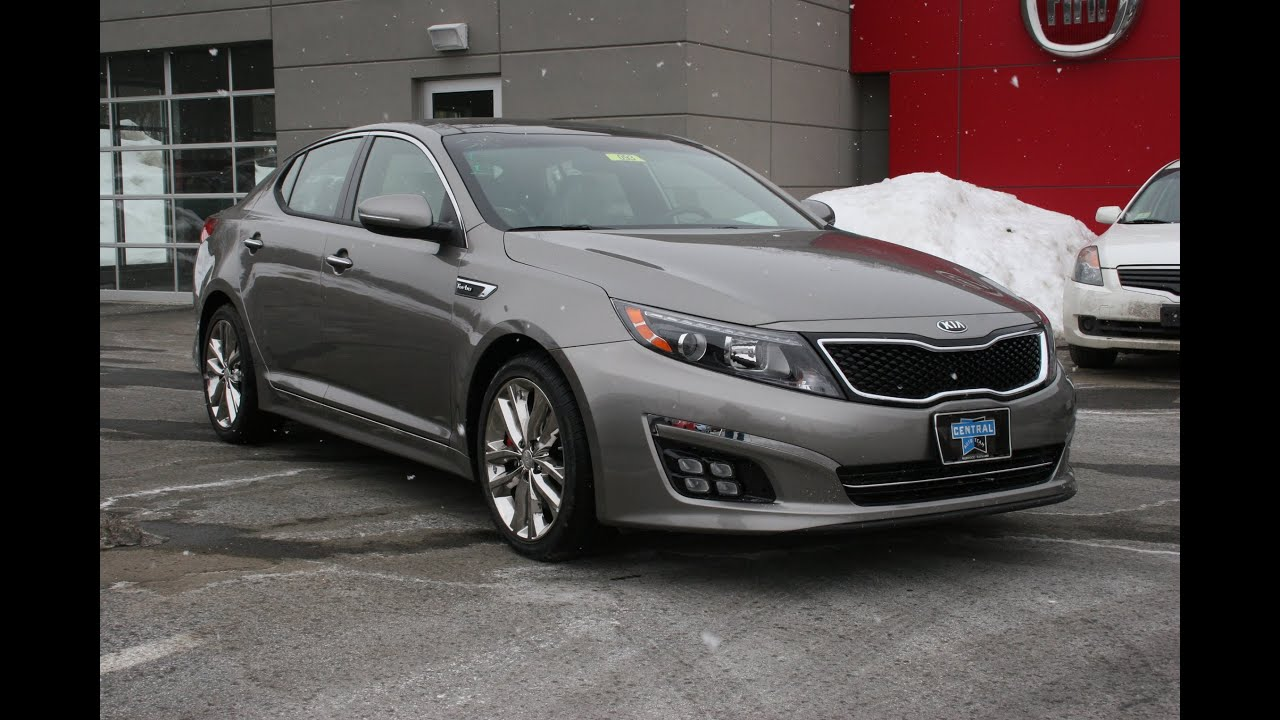 2015 Kia Optima SXL Turbo Review and Test Drive - YouTube