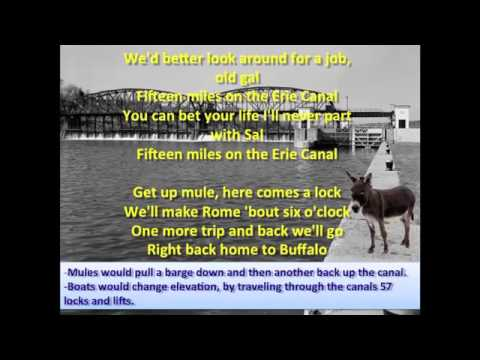Erie Canal featuring Bruce Springsteen - Lyrics