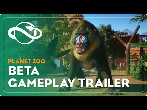 Planet Zoo Beta Gameplay Trailer Now Live