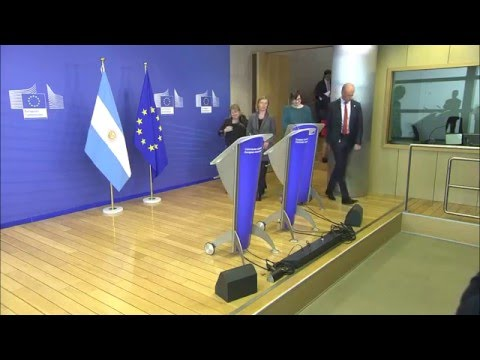 Extracts from the joint press point by Federica MOGHERINI and Argentinian FM Susana MALCORRA