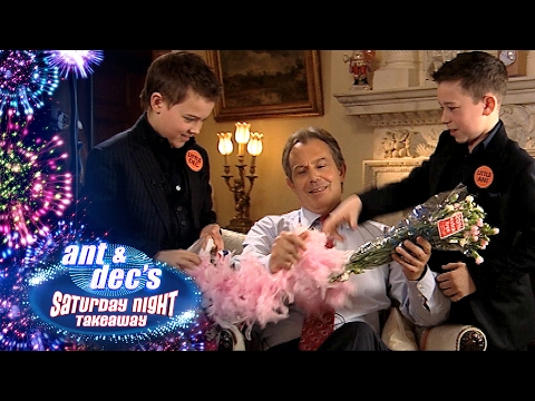 Little Ant & Dec Interview Tony Blair - Saturday Night Takeaway