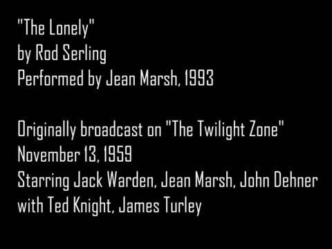 The Lonely  Twilight Zone  Book Jean Marsh