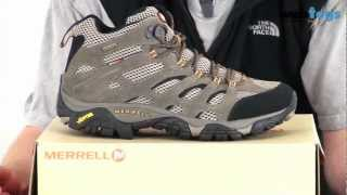 Merrell Men's Moab Mid Goretex XCR Walking Boots - Light and waterproof boots for the trail. Thumbnail