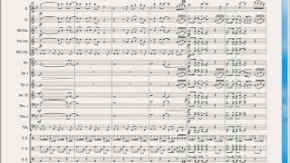 Hey baby - Marching Band Arrangement
