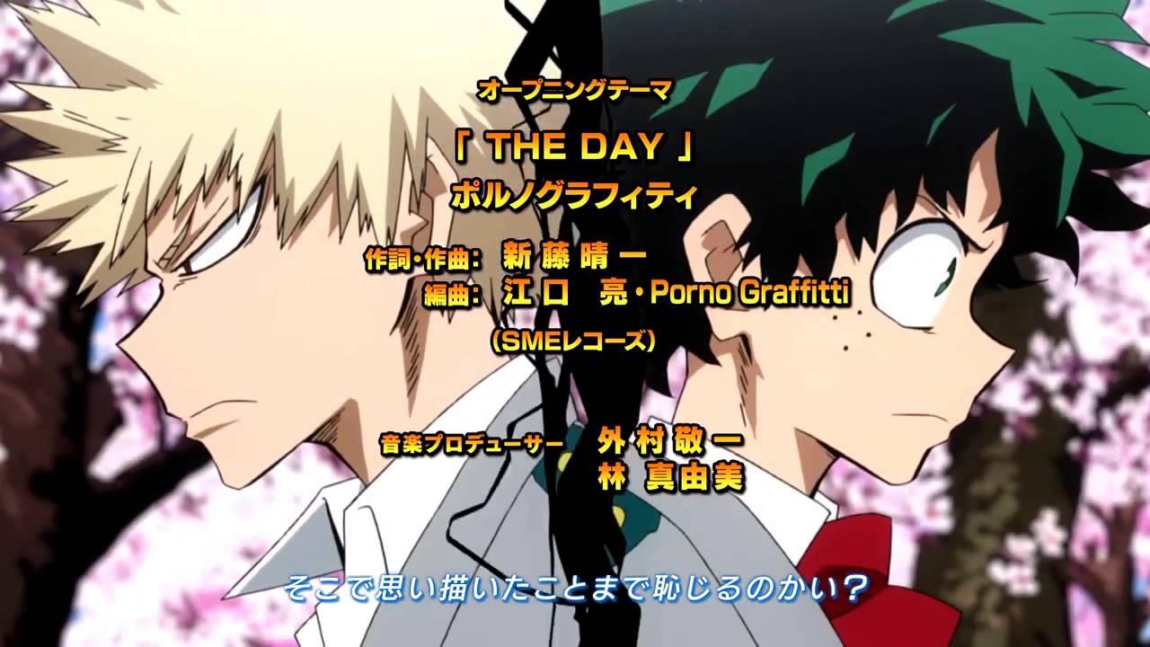 The Day My Hero Academia Op Eng Youtube