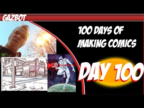 100 Days of Making Comics: Day 100