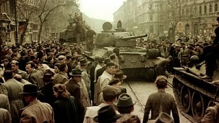 La URSS invade Hungría. 1956