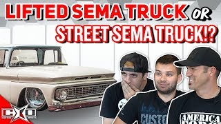 Lifted SEMA Truck or Street SEMA Truck!? || This or That