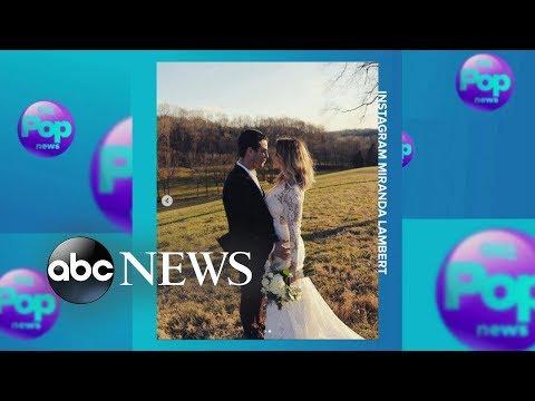 Country star Miranda Lambert marries NYPD officer Brendan McLoughlin