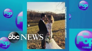 Country star Miranda Lambert marries NYPD officer Brendan McLoughlin