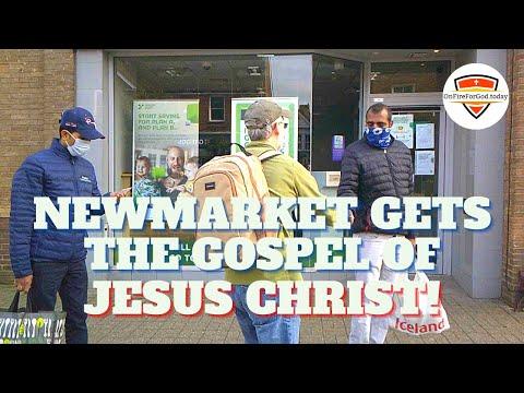UK Street Preaching: Newmarket, Suffolk, England
