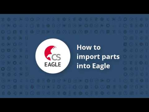 How to import symbols & footprints into Autodesk Eagle