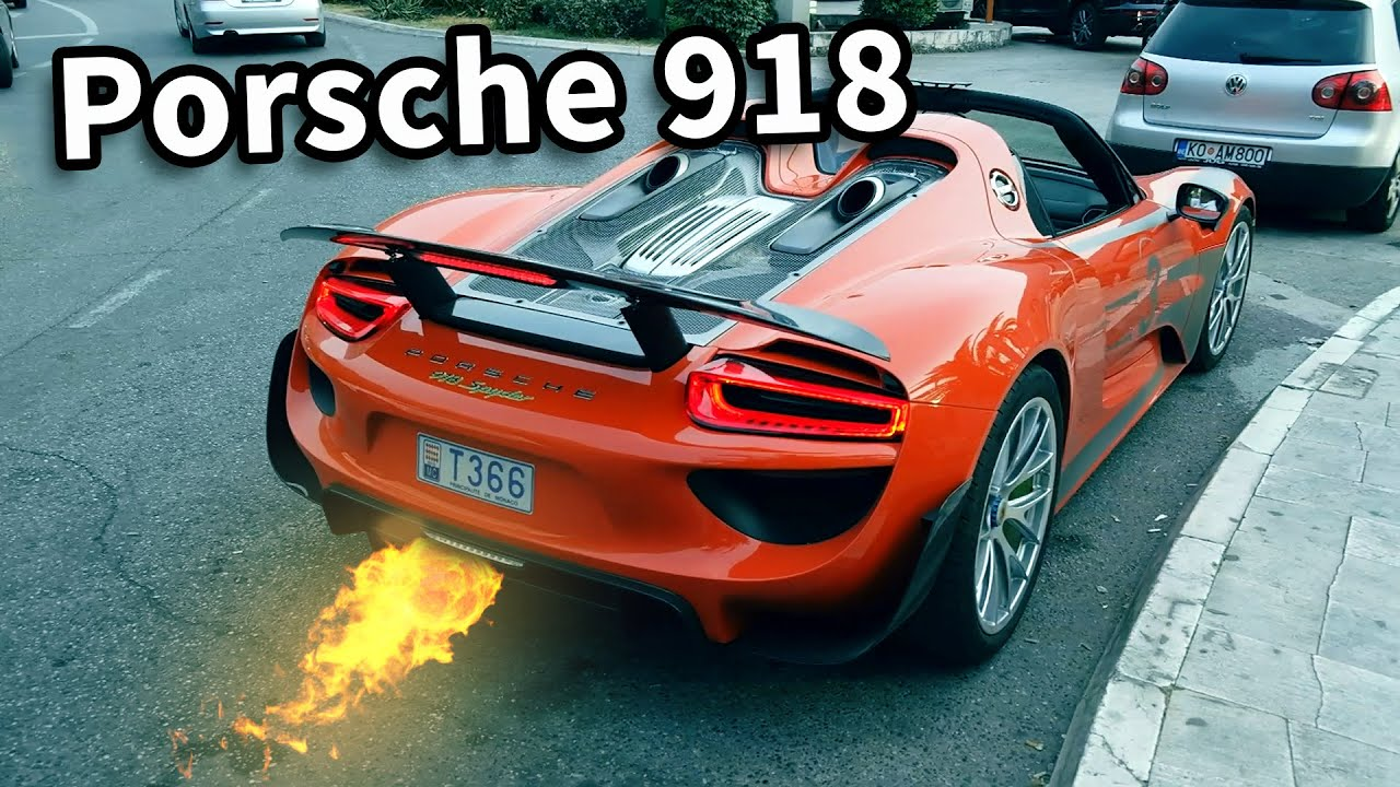 porsche 918 spyder weissach package lookaround sound youtube. Black Bedroom Furniture Sets. Home Design Ideas