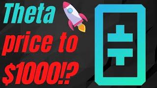 Theta To $1000!? - Theta MASSIVE News! - Theta Price Prediction 2021 - Theta Cryptocurrency