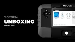 What's In the TOPDON Key Programmer Immobilizer T-Ninja1000 Box?