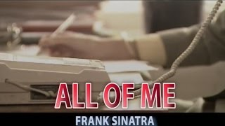 ALL OF ME (カラオケ) FRANK SINATRA
