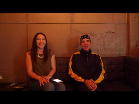 Backstage Interview: Will Singe - The Changes Tour San Diego