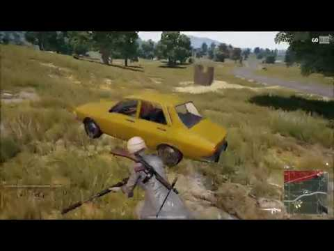 PUBG The duel and fake taxi