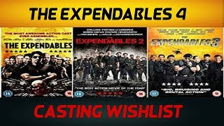 The Expendables 4 - Cast Wishlist